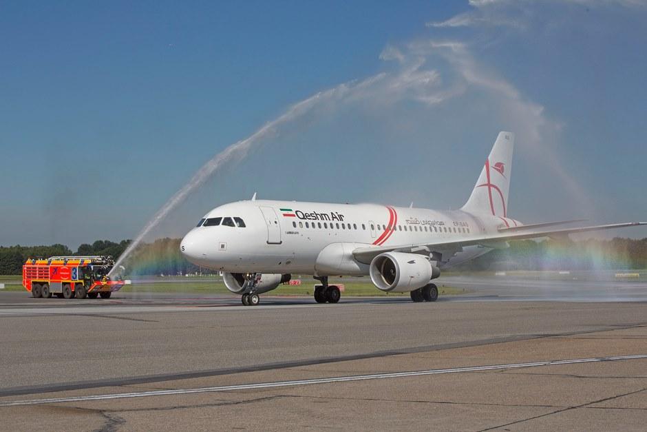 Qeshm Airlines hat Tabriz – Hamburg aufgenommen
